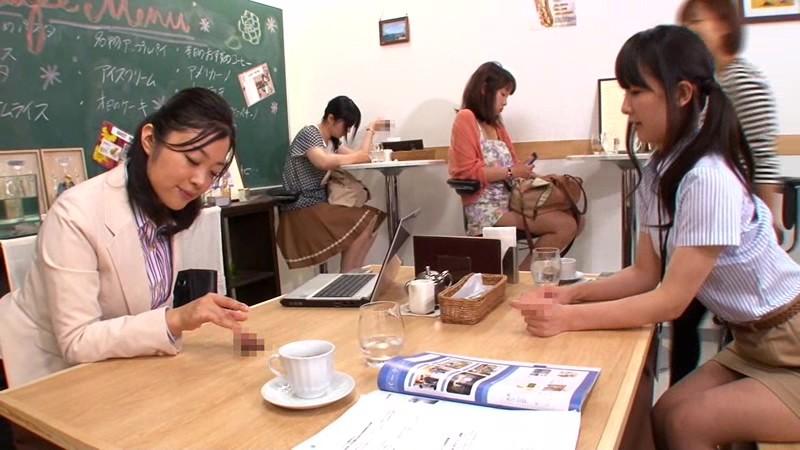 壁!机!椅子!から飛び出る生チ○ポが人気のお店 「喫茶しゃぶりながら」・・・さらにハメながら 画像18