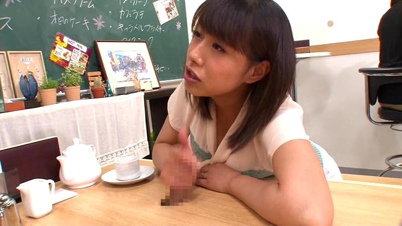 壁!机!椅子!から飛び出る生チ○ポが人気のお店 「喫茶しゃぶりながら」・・・さらにハメながら 画像6