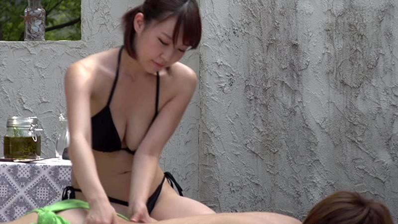 「常に性交」 ビキニマッサージ 4 Fカップ以上の巨乳エステティシャンによる極上オイルマッサージ 本格ヨーロッパ風マッサージ編 画像1