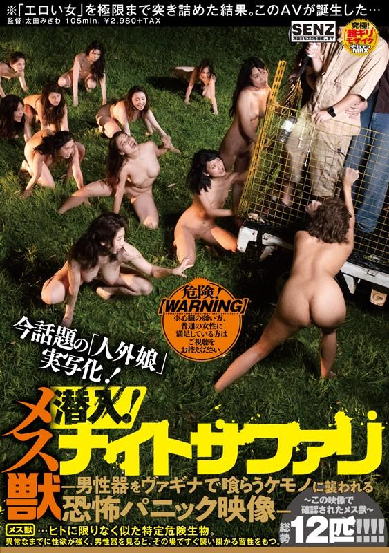 潜入! メス獣ナイトサファリ ―男性器をヴァギナで喰らうケモノに襲われる恐怖パニック映像― 画像1