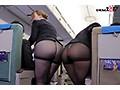 [SDDE-643] 「制服・下着・全裸」でおもてなし またがりオマ○コ航空13 ガニ股騎乗位便 黒パンストver