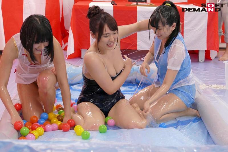 SODファン大感謝祭!全日本ローションバトル2019 一般素人男性と男女混合でヌルヌルローションリングで密着ヌキまくり!! 15枚目