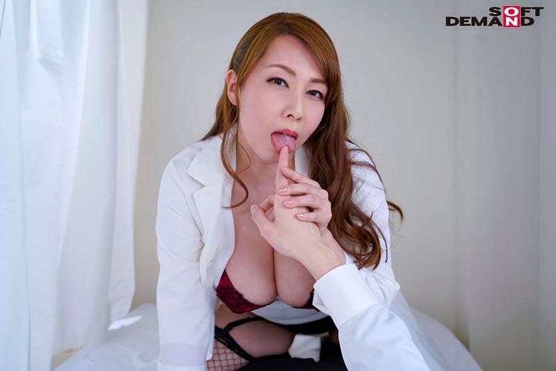 【風間ゆみsex】巨乳の熟女痴女、風間ゆみのsex誘惑が、保健室で。【童貞】