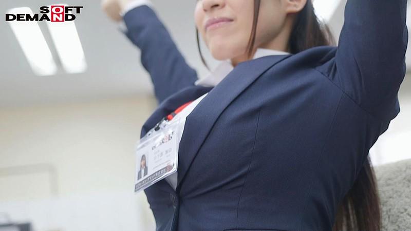 爆乳IカップのSOD女子社員 新卒入社1年目 宣伝部 日下部加奈(23)AV出演(デビュー)!! 3枚目