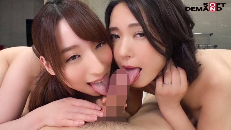 SDJS-039 Studio Komatsu (17) - An SOD Female Employee Double Casting I'm Being Serviced By Both My Boss And My Employee In A Dream-Cum-True Reverse Threesome Office Fuck Fest Maiko Ayase (47 Years Old) x Asumi Yoshioka (27)