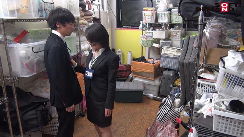 SOD女子社員 若手男子社員にこっそり中出しを求めて社内カップル逆NTRしちゃいました(ハート) 宣伝部中途入社3年目 綾瀬麻衣子 47歳 15枚目