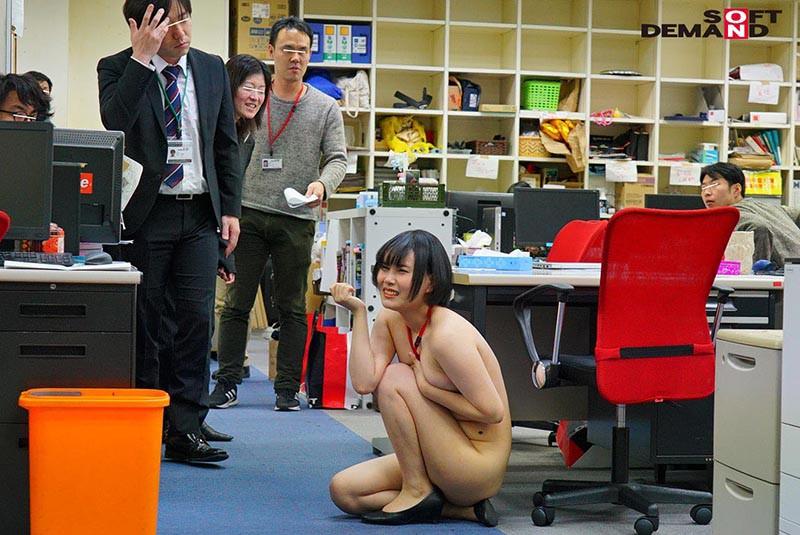 1週間全裸業務で羞恥心を克服!一回りも二回りも成長した浅井心晴の公開羞恥SEX 10枚目