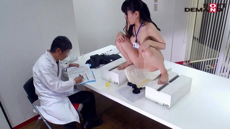 SOD女子社員 新入社員限定 巨乳だらけの全裸で健康診断 立派に育った食べごろな身体の9名を全裸にして真面目に検診しました(ハート) 18枚目