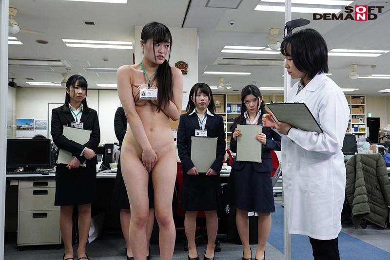 SOD女子社員 新入社員限定 巨乳だらけの全裸で健康診断 立派に育った食べごろな身体の9名を全裸にして真面目に検診しました(ハート) 5枚目