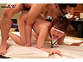 【SOD女子社員】若手AD女子社員が働く舞台裏!男たちに脱がされてパイパンまんこを愛撫されたら身勝手に挿入されてしまう!(6)