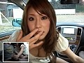 カーSEX中に覗き魔乱入!真田春香を初めてのドッキリ輪●!