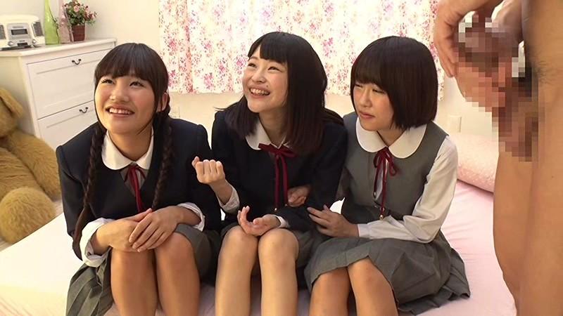 【巨根】制服姿の女子校生の、手コキ羞恥無料エロ動画!【女子校生動画】