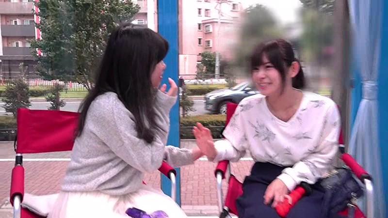 マジックミラー号 150cm以下の低身長20代女性が極太バイブ体験!!in豊島区 1枚目