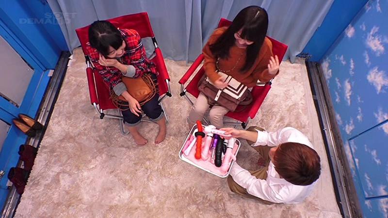マジックミラー号 150cm以下の低身長20代女性が極太バイブ体験!!in豊島区 10枚目
