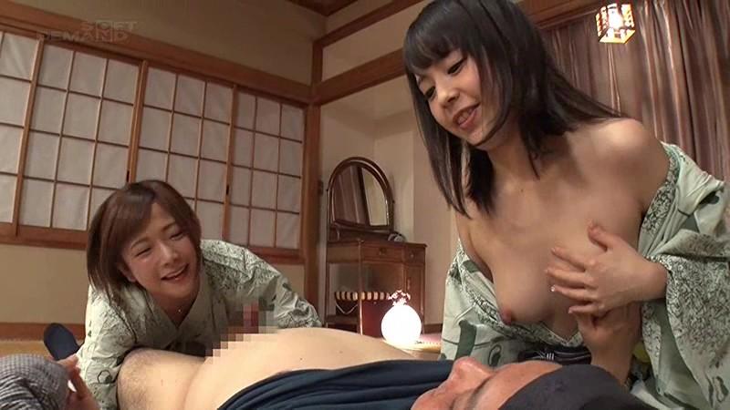 紗倉まな、佳苗るかのフェラ3Pファン感謝無料エロ動画。【sex動画】