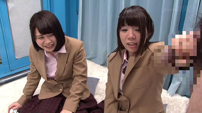 マジックミラー号にて、スレンダーな制服姿の女子校生JKの、フェラ羞恥無料エロ動画!【女子校生、JK動画】