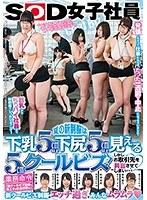 SOD女子社員 夏の新制服は下乳5cm以上 下尻5cm以上見える5cmクールビズ!しかしお取引先を興奮させてしまい…◆ ダウンロード