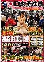 SOD女子社員強姦対策訓練 大勢の同僚に絶頂ま○こを晒されて ダウンロード