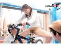 <アクメ自転車>清楚系若妻が細工されたママチャリに乗車♡あり得ないほど潮を撒き散らして他人棒に犯されちゃう人気企画(4)