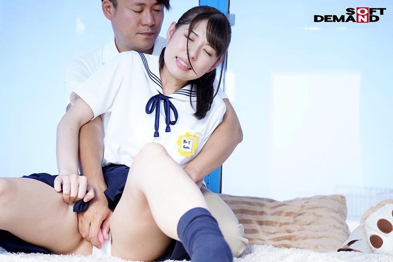 【女子校生 騎乗位】ロリでエロい下着の女子校生JKの、騎乗位プレイエロ動画!【エロ動画】