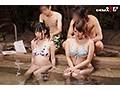 温泉街で見つけた初対面の男女が「裸よりも恥ずかしい水着で混浴体験!!」きわどい相互マッサージをやらされ気分が高まる即席ペアは理性を保てるのか?!