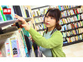 図書館で声も出せず糸引くほど愛液が溢れ出す敏感娘 ノーブラ羞恥で興奮した巨乳司書