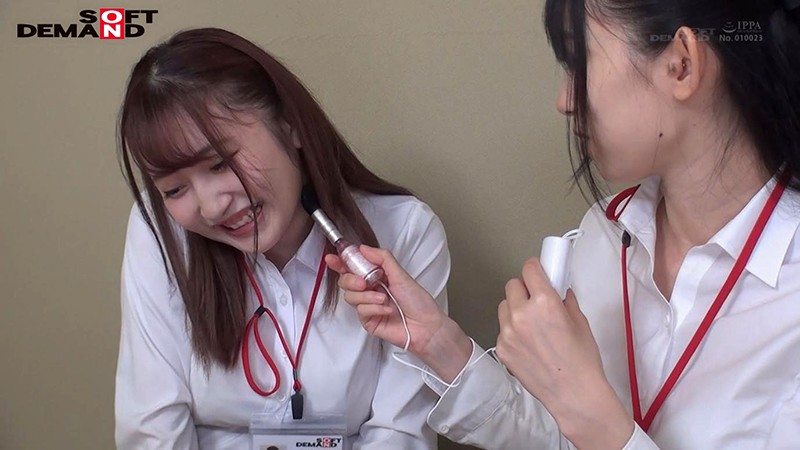 SHYN-095 Studio SOD Create - Two Girls Try Out Sex Toys Together Huge Dildo Female YouTuber Surprise Sex Toy Review 1st Year Clothing Department Employee Saki Kobayakawa and 3rd Year General Affairs Department Employee Yumiko Kawano big image 5