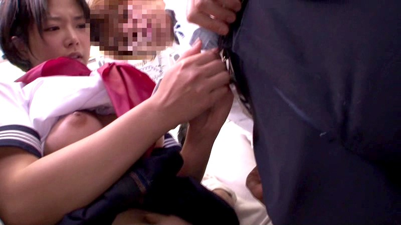 【おっぱい】スレンダーな巨乳で制服姿のJK女子校生、紗倉まなの痴漢悪戯無料エロ動画!【紗倉まな動画】
