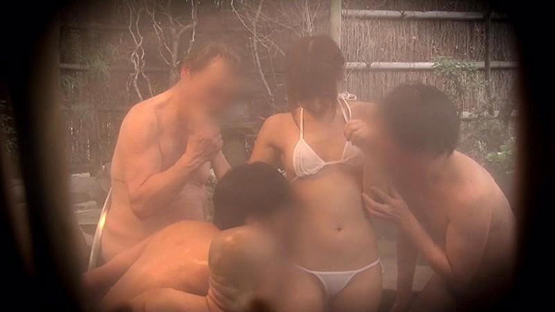 瑠川リナちゃんタオル一枚男湯入ってみませんか?HARD 画像6