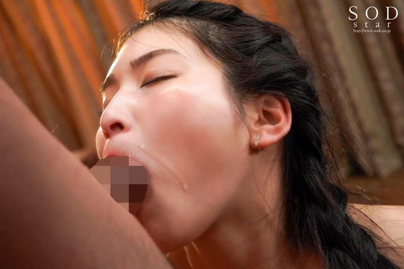 イヤらしくチュポ音立てながらレロレロ舌なめずり唾液ダラダラ垂れ流し特濃おフェラ 本庄鈴 の画像2