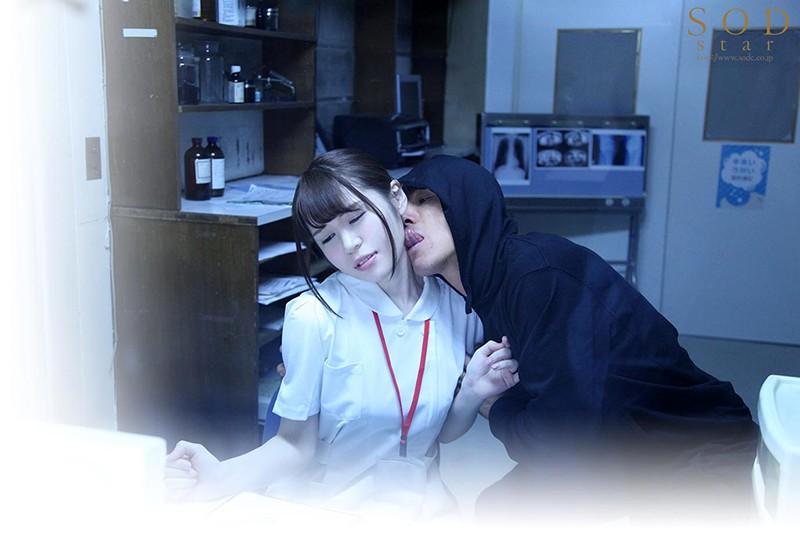 狙われた巨乳看護師 執拗なまでに舐めまわされた白い肌 みながわ千遥 2枚目