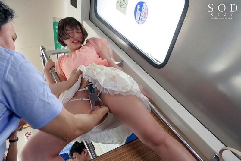 電車で寄りかかってきた夏服女子○生に欲情 ズブ濡れ追跡痴漢 唯井まひろ 11枚目