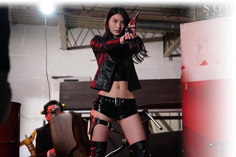 STARS-202 Studio SOD Create - My Classmate Who Saved Me - I See A Female Detective Getting G*******ged By A Group Of Criminals, And It Gets Me Hard - Suzu Honjou big image 6