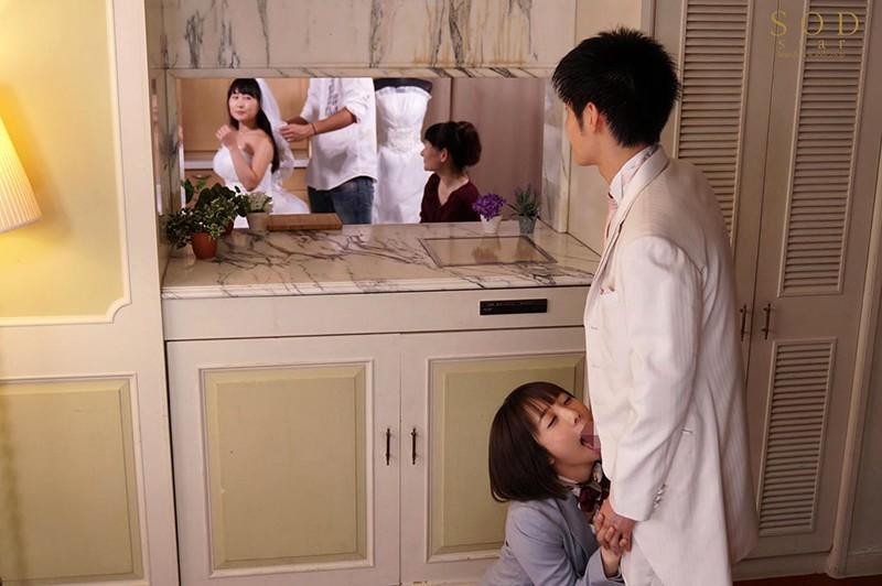 戸田真琴 結婚式最中の新郎に強●中出しさせる美人ウェディングプランナー10