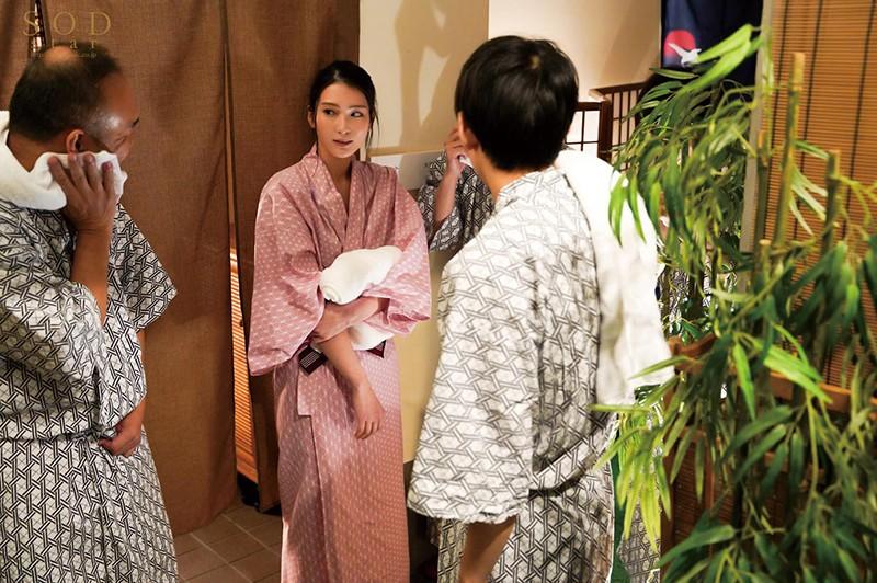 混浴社員旅行NTR 温泉好きな会社の先輩たちと、貸切家族風呂に行ったら僕の妻が滅茶苦茶に犯●れてしまいました…。 本庄鈴3