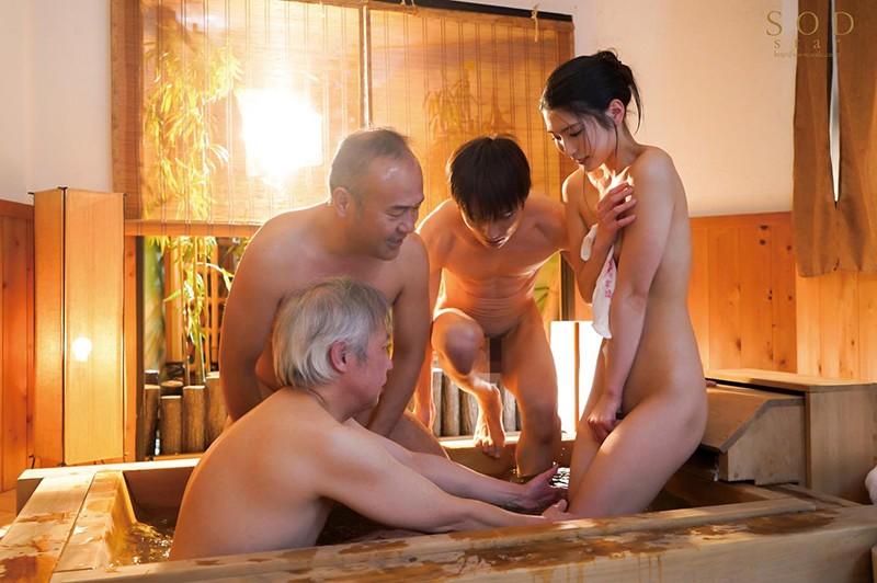 混浴社員旅行NTR 温泉好きな会社の先輩たちと、貸切家族風呂に行ったら僕の妻が滅茶苦茶に犯●れてしまいました…。 本庄鈴4