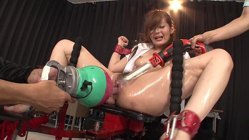 スケベな巨乳の女教師、石原莉奈のバイブレイプ拘束無料H動画!【石原莉奈動画】
