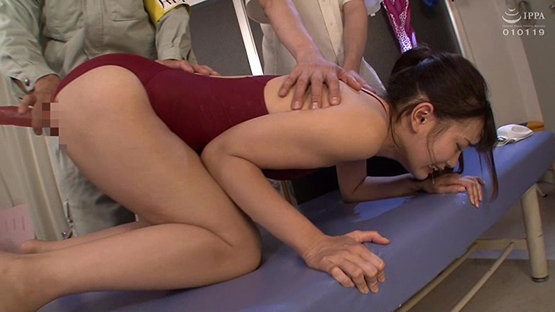 新任教師美谷朱里 競泳水着孕ませレイプ輪姦ドリルバイブ キャプチャー画像 15枚目