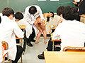 羞恥 新任女教師が学習教材にされる男子校の性教育 生徒の目...sample2