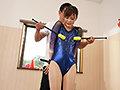 合宿に来ていた新体操部JDのレオタードを脱がせて背後からノ...sample11