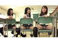 クラスメイトのニーハイ太ももがおいしそうなうえに、チラッ...sample3
