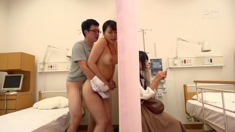 入院したら看護師がみんな巨乳でノーブラ!?透け乳首をこっそりおかずにしていたら見つかってまさかの夢の展開に!?
