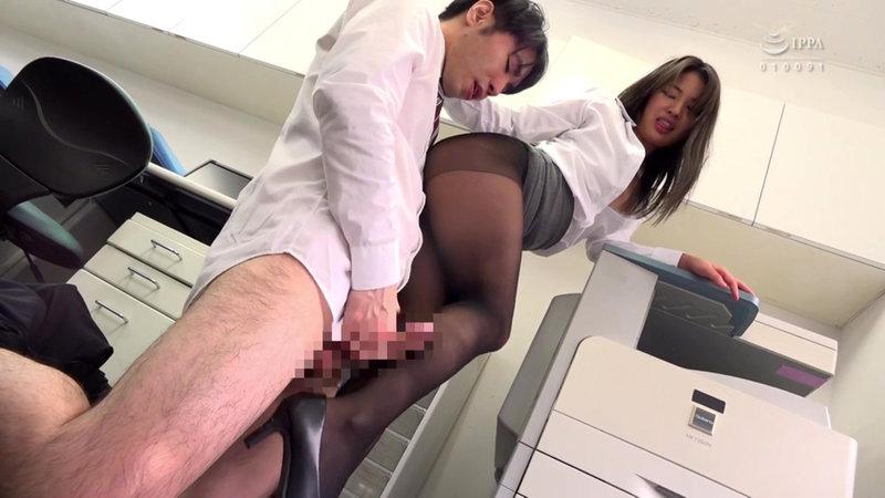 女子社員のむっちり黒パンスト透けパンチラが社内や出張先で俺を誘う。パンスト破ってチ○ポねじこんでイイんですよね?9
