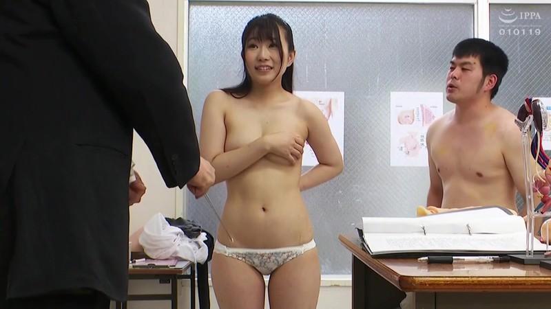 羞恥 新任女教師が学習教材にされる男子校の性教育 河合ゆい先生編