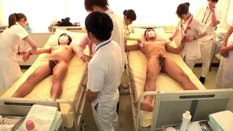 羞恥!生徒同士が男女とも全裸献体になって実技指導を行う質の高い授業を実施する看護学校実習2021 救急救命処置実習〜清拭 陰部洗浄実習 画像5