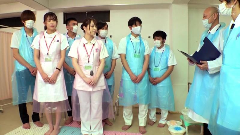 羞恥!生徒同士が男女とも全裸献体になって実技指導を行う質の高い授業を実施する看護学校実習2021 入浴介護実習〜産婦人科実習 画像1