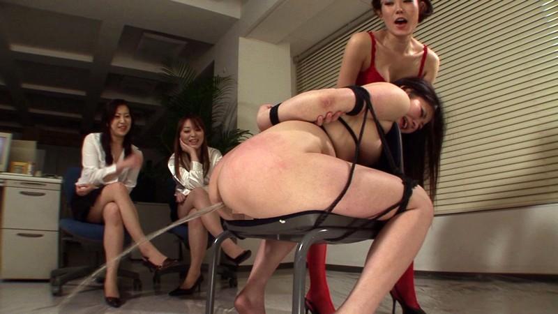 緊縛汚辱レズ折● 職場で先輩に虐められる牝豚OL 画像10