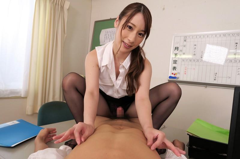 【VR】誘惑、女教師。 橋本れいか 画像12