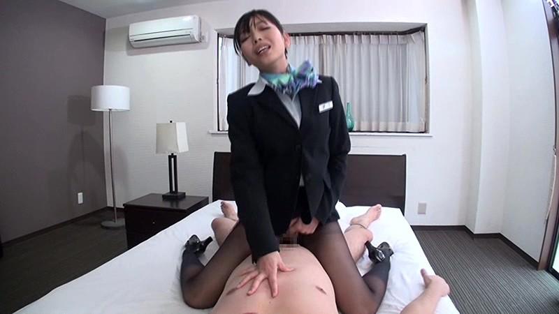 憧れのスチュワーデスと性交 神ユキ 無料エロ画像6