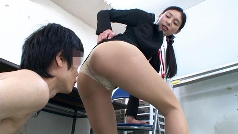 スレンダースケベな美脚でパンスト姿のOL痴女の、足コキパンチラ無料動画。【OL、痴女、お姉さん動画】